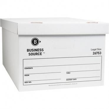Business Source Lift-off Lid Light Duty Storage Box (CA/CASE)