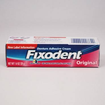 Proctor And Gamble fixodent denture adhesive cream Model: 414342 (1/EA)