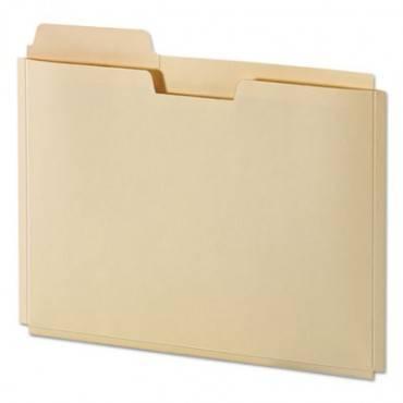 """File Folder Pocket, 0.75"""" Expansion, Letter Size, Manila, 10/pack"""