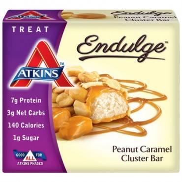 Atkins Endulge Pieces - Peanut Caramel Cluster Bar - 5 oz