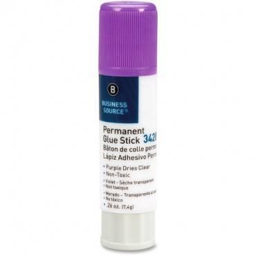 Business Source Bulk Purple Glue Sticks (PK/PACKAGE)