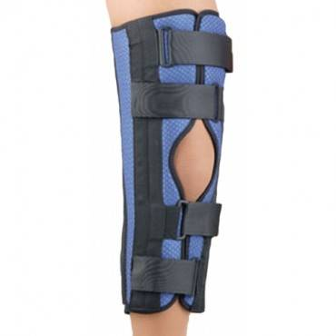 "Breathable Universaltri-Panel Foam Knee Immobilizer 14"" Blue Un"