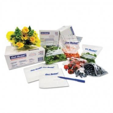 Get Reddi Food & Poly Bag, 10 X 8 X 24, 22-quart, 0.85 Mil, Clear, 500/carton