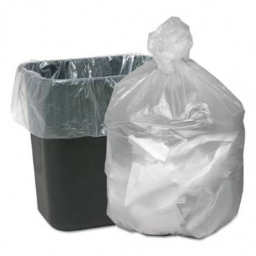 High Density Waste Can Liners, 7-10gal, 6mic, 24 X 23, Natural, 1000/carton