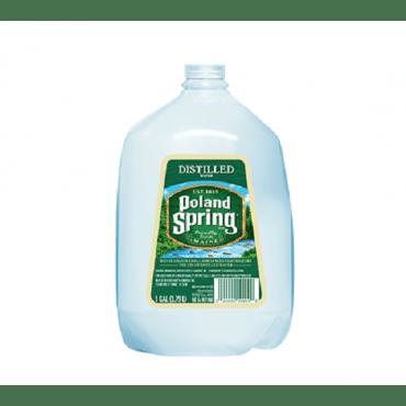 Poland Spring Water - Distilled - Case Of 6 - 1 Gal
