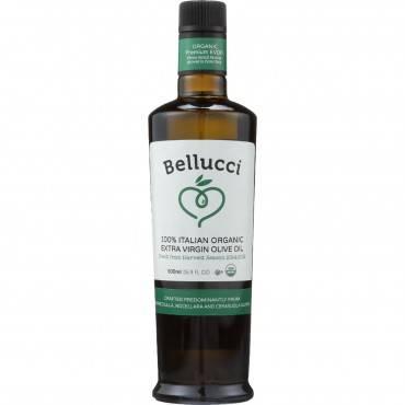 Bellucci Premium Olive Oil - Organic - Extra Virgin - Premium - 500 ml - case of 6