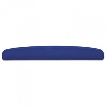"Memory Foam Wrist Rests, 2 7/8"" X 18"" X 1, Blue"