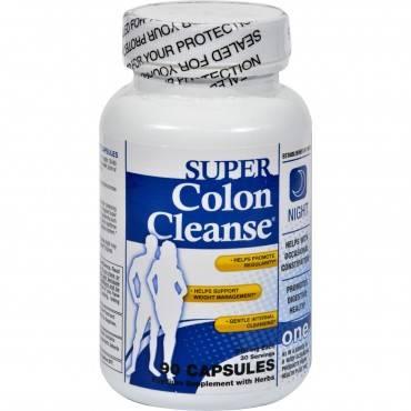 Health Plus - Super Colon Cleanse Night Formula - 90 Capsules