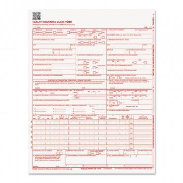 Cms Forms, 8 1/2 X 11, 250 Forms