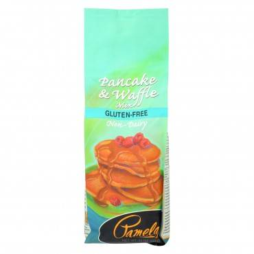 Pamela's Products - Non-dairy Pancake - Mix - Case Of 6 - 24 Oz.