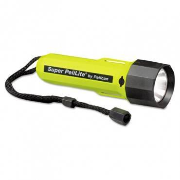 Pelican  Pelilite 1800 Flashlight, 2 C, Yellow/Black