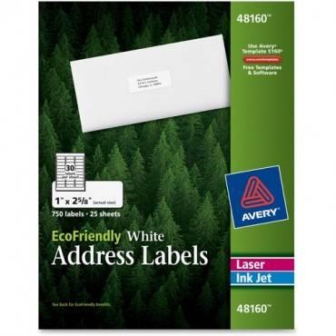 Avery® EcoFriendly Address Labels (BX/BOX)
