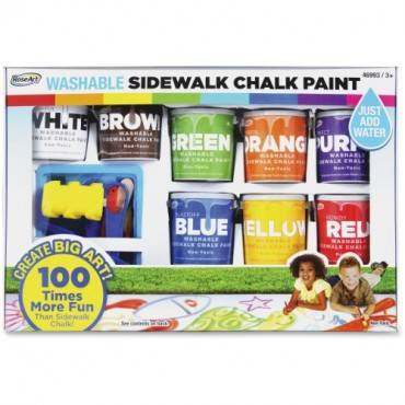 RoseArt Washable Sidewalk Chalk Paint Set (PK/PACKAGE)