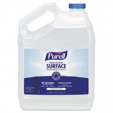 Healthcare Surface Disinfectant, Fragrance Free, 128 Oz Bottle