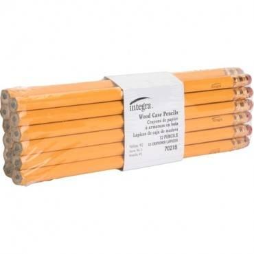 Integra Economy No. 2 Wood Case Pencil (DZ/DOZEN)