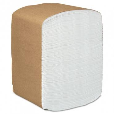 Full-fold Dispenser Napkins, 1-ply, 12 X 17, White, 250/pack, 24 Packs/carton
