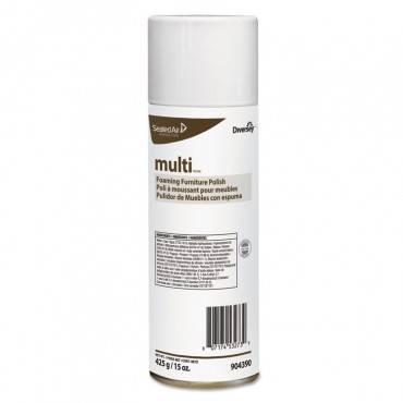 Shine-uptm/mc Multi-surface Foaming Polish , Lemon Scent, 15 Oz Aerosol, 12/carton
