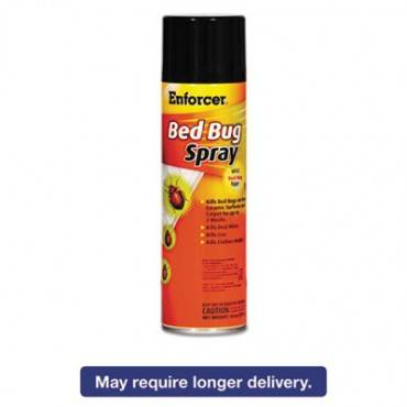 Bed Bug Spray, 14 Oz Aerosol, For Bed Bugs/dust Mites/lice/moths, 12/carton