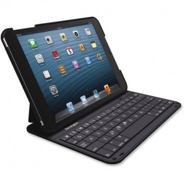 Kensington KeyFolio Thin Keyboard/Cover Case (Folio) iPad mini, iPad mini 3, iPad mini with Retina Display - Black (EA/EACH)