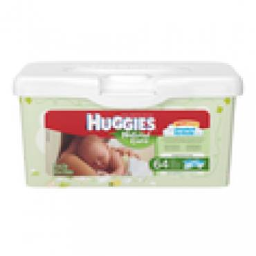 Huggies Natural Care Fragrance Free Baby Wipes Part No. 39301 (1/ea)