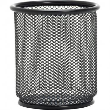 Lorell Black Mesh/Wire Pencil Cup Holder (EA/EACH)