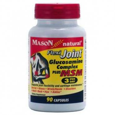 Glucosamine Flexi Joint Complex Plus MSM 3 per day Capsules, 90 Count Part No. 1263-90 Qty 1