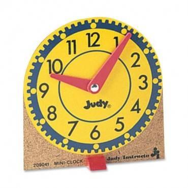 Carson-Dellosa Mini Judy Clocks (ST/SET)