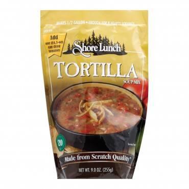 Shore Lunch Soup Mix - Tortilla - Case of 6 - 9 oz
