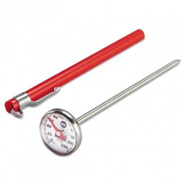 Industrial-grade Analog Pocket Thermometer, 0f To 220f