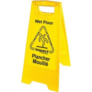 Impact Products English/Spanish Wet Floor Sign (EA/EACH)