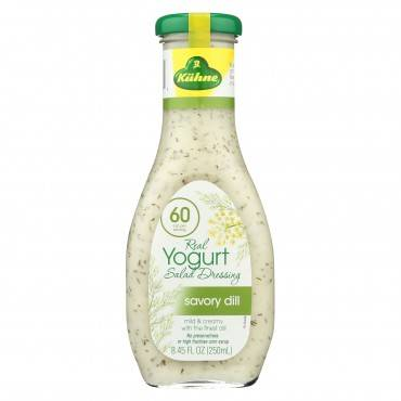 Kuhne Yogurt And Dill Dressing - Case Of 8 - 8.45 Fl Oz.