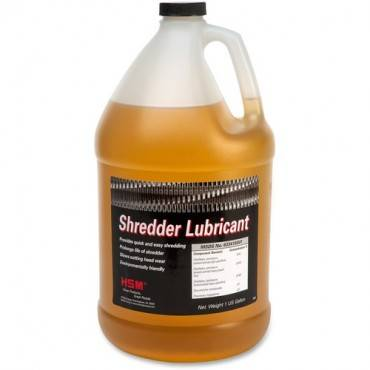 HSM Shredder Lubricant - Gallon Bottle (EA/EACH)