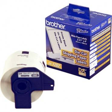Brother DK1202 - Shipping White Paper Labels (RL/ROLL)
