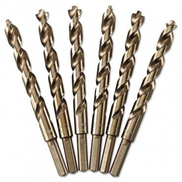 Pilot Point Gold Ferrous Oxide Drill Bit, 1/2in Diameter