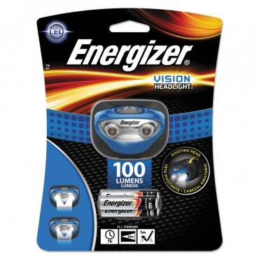 Led Headlight, 3 Aaa Batteries (included), Blue