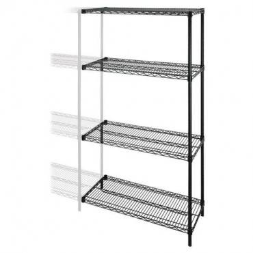 Lorell Industrial Wire Shelving Add-On-Unit (EA/EACH)