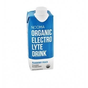 Nooma Electrolite Drink - Organic - Blueberry Peach - Case Of 12 - 16.9 Fl Oz