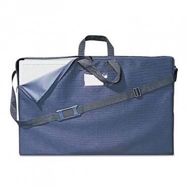 Quartet  Tabletop Display Carrying Case, Canvas, 18 1/2w X 2 3/4d X 30h, Black