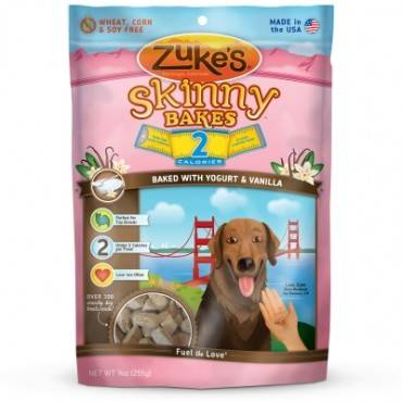 Zuke's Skinny Bakes - Yogurt and Vanilla - Case of 6 - 9 oz.