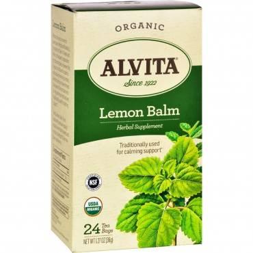 Alvita Tea Lemon Balm - 24 Bag