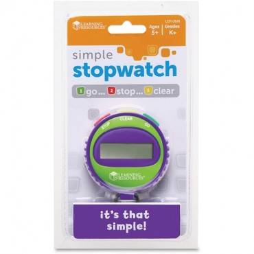 Learning Resources Simple Stopwatch (EA/EACH)