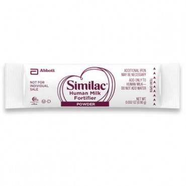 Similac with iron, human milk fortifier part no. 54598 (50/box)