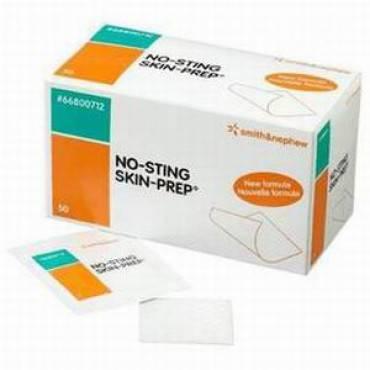 No-sting Skin-prep Protective Wipes Part No. 59420600 (50/box)
