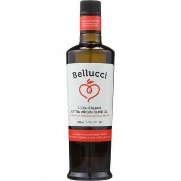 Bellucci Premium Olive Oil - Extra Virgin - 100 Percent Italian - 500 ml - case of 6