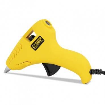 Mini Glueshot Hot Melt Glue Gun, 15 Watt, Yellow