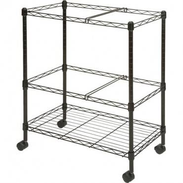 Lorell Mobile Wire File Cart (EA/EACH)
