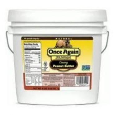Once Again Organic Creamy Butter No Salt - Peanut - Case Of 9 - 1 Lb.