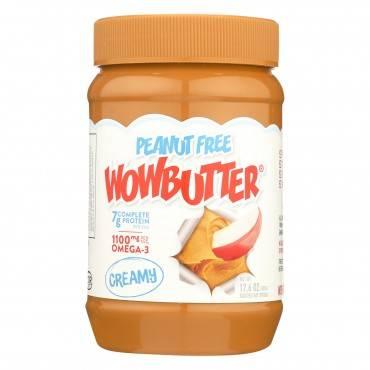 Wowbutter Creamy Peanut Free Spread - Case Of 6 - 17.6 Oz.