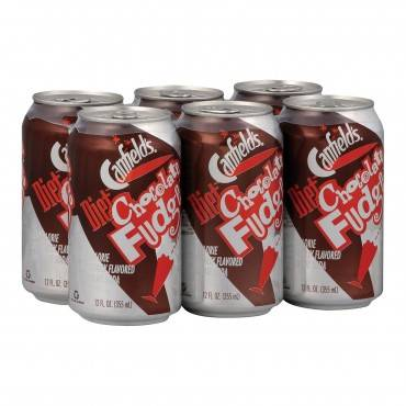 Canfield's Soda - Diet Chocolate Fudge - Case of 4 - 6/12 fl oz