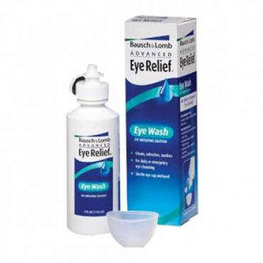 Bausch & lomb eye wash, 4 oz. part no. r25953 (1/ea)